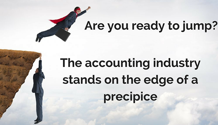 the accounting industry stands on the edge of a precipice